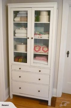 Beautiful Ikea Hemnes Display Cabinet
