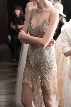 Breathtaking Bridal Collection: Naeem Khan - Oh-- this will simply make you swoon. A dreamy bridal collection from Naeem Khan, each gown and detail more beautiful than the next. Couture Dresses, Fashion Dresses, Pretty Dresses, Beautiful Dresses, Naeem Khan Bridal, Short Dresses, Prom Dresses, Flapper Dresses, Looks Vintage