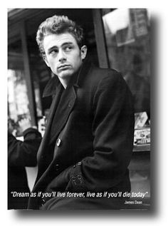 James Dean 8th February 1931- 30th September 1955