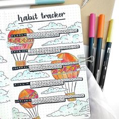 Bullet Journal Habit Tracker Layout Ideas {And why you NEED to track your habits!} Last modified on April 2019 > > > Bullet Journal Habit Tracker Layout Ideas {And why you NEED to track your habits! Bullet Journal Habit Tracker Layout, Bullet Journal Tracker, Bullet Journal Aesthetic, Bullet Journal Writing, Bullet Journal Inspo, Bullet Journal Spread, Bullet Journals, Bujo, Journal Inspiration