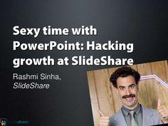 rashmi-sinha-unsexy-presentation by 500 Startups via Slideshare August 9, Startups, Presentation, Cover, Sexy, Books, Life, Libros, Book