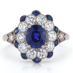 Engagement Rings with Colored Stones : Brides... go ahead and charge that to MY account.... that's right, I'll but it for myself;)