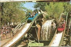 cedar point history - shoot the rapids Best Amusement Parks, Amusement Park Rides, Abandoned Amusement Parks, Abandoned Cities, Abandoned Mansions, Vacation Memories, Vacation Places, Vacations, Cuyahoga National Park