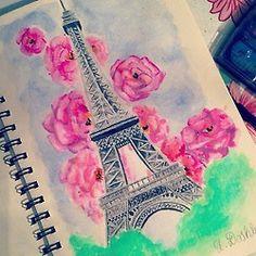 eiffel tower draw