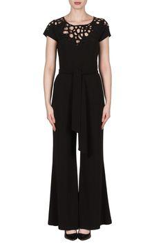 506ebe3d723b Joseph Ribkoff Black Jumpsuit Style 173995