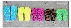 Craft Your Flip Flops - Sugar Bee Crafts