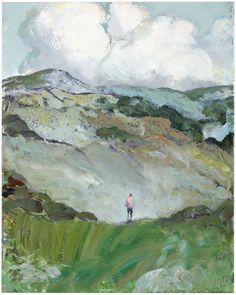 Tuomo Saali, New Day, oil on canvas, 50x40cm, 2017