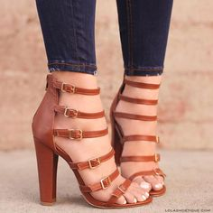 ❤️Our love for strappy heels has turned into a serious obsession! Hurry, add these fall essentials to your collection NOW! Women's Shoes, Me Too Shoes, Shoe Boots, Shoes Sneakers, Pretty Shoes, Beautiful Shoes, Cute Shoes, Lace Up Heels, Strappy Heels