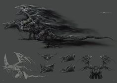 Darkeater Midir. Dark Souls 3