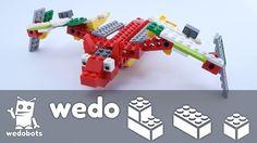 wedobots: Spooky Bat Instructions with LEGO® WeDo™ bricks