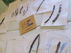 Make anything but a stick - could also do this craft with Stick Man by Julia Donaldson Creative Activities, Learning Activities, Activities For Kids, Nature Activities, Preschool Lessons, Preschool Crafts, Forest School Activities, Stick Man, Stem Projects