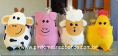 Soda Bottle Crafts, Plastic Bottle Crafts, Soda Bottles, Plastic Bottles, Robot Dinosaur, Farm Animals, Pikachu, Recycling, Bunny