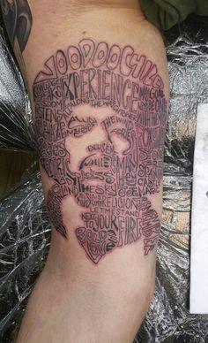 Jimi hendrix tattoo