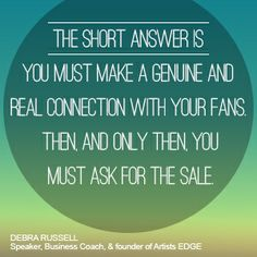 Advice from John Taglieri // To read the full article, visit: http://cyberprmusic.com/2013/12/28/12-days-of-monetization-how-do-you-get-people-to-buy-your-music-debra-russell-day-4/