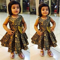 50 New And Unique Baby Frock Designs in 2020 with Images Girls Frock Design, Kids Frocks Design, Baby Frocks Designs, Baby Dress Design, Kids Dress Wear, Kids Gown, Little Girl Dresses, Girls Dresses Sewing, Kids Wear