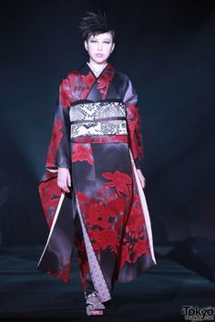 Modern Kimonos- there's a bunch of pics by the youngest designer in that industry, who wants to bring them back as everyday-wear