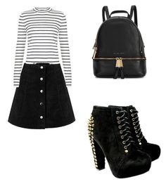 """""""jupe"""" by sisiassia on Polyvore featuring mode, Michael Kors, women's clothing, women, female, woman, misses et juniors"""