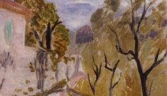 Paysage ou Rue dans le Midi, 1919, musée des beaux-arts André-Malraux, Le Havre