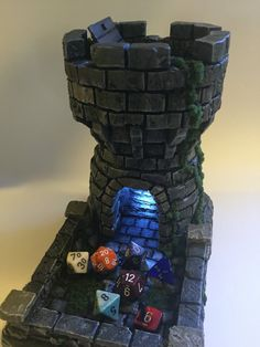 DnD Tabletop Dice Tower