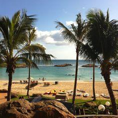 Aulani, a Disney resort and spa, in Oahu, Hawaii