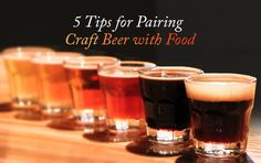 5 Tips For Pairing Food With Craft Beer - Knoworthy