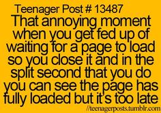 Happens all the time!: