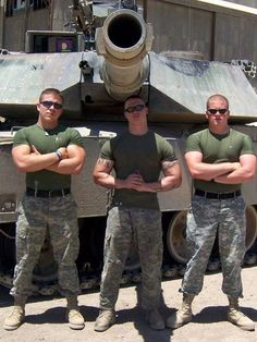 Muscle army men