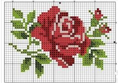 Cross Stitch Rose, Cross Stitch Flowers, Coloring Sheets, Beaded Embroidery, Cross Stitching, Baby Quilts, Pixel Art, Needlepoint, Needlework