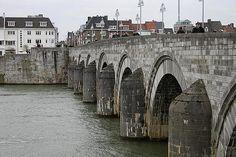 St. Servaas Bridge in Maastricht, #thenetherlands #bridge #beautifulplaces
