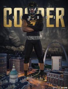 Missouri College Football Recruiting, Sports Graphics, Missouri, Jackson, Movie Posters, Movies, Ideas, Design, Films