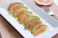 That's so Michelle...: Avocado and Grapefruit Salad