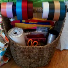 Great idea for gift wrapping organization.   Magazine Baskets- $30 & $40