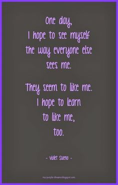 Aspirations from My Purple Dreamer