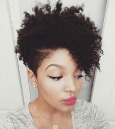short tapered natural hair - Google Search