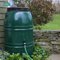 @chirt143 conserves water by using a rain barrel collection! #RiceSelectEcoChallenge #Day3 #Contest #Instagram #Water