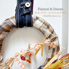 The 36th AVENUE | Fall Wreath Tutorial | The 36th AVENUE