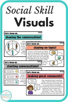 Social Skills Visuals