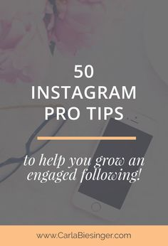 The 50 best tips to help you grow your Instagram following and engagement. A round up of your favourite bloggers' posts! Click through to read now and instantly up your Insta game :)