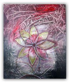 BURGSTALLER ORIGINAL Gemälde Acryl Bilder abstrakte Kunst Malerei ...