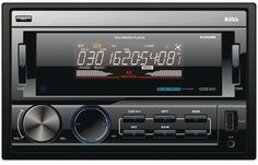 boss audio - double-din in-dash mechless receiver with bluetooth(R)