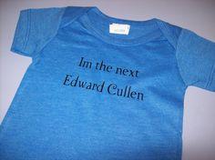 Twilight baby boy onesie the next Edward by LoneStarGraphics, $12.00