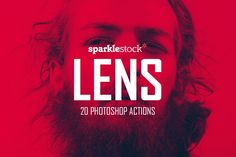 Lens - 20 Vibrant Effects by SparkleStock on @creativework247