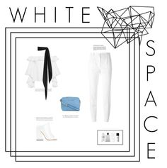 """""""white space"""" by megabxbe ❤ liked on Polyvore featuring Alexis, MICHAEL Michael Kors, Acne Studios, Dolce&Gabbana, Yves Saint Laurent, Hermès, Marc Jacobs, Byredo and Color Me"""