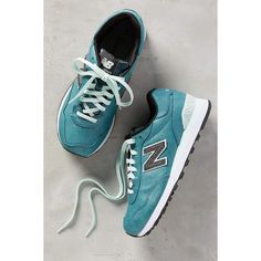 New Balance 515 Sneakers (£46) ❤ liked on Polyvore featuring shoes, sneakers, tropical green, new balance shoes, green sneakers, suede shoes, green suede shoes e synthetic shoes