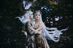 Sevilay and goddess Luna