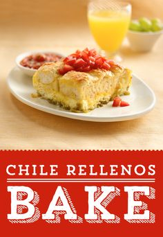 Looking for a delicious twist on your weekend brunch? Try this tasty Chile Rellenos Bake! This Mexican-style egg bake is sure to please - it's everything you love about egg bake with a spicy twist!
