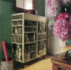 The Devoted Classicist: Villa Fornasetti Recycled Furniture, Find Furniture, Painted Furniture, Furniture Design, Piero Fornasetti, Classical Antiquity, Green Rooms, Plate Design, Room Accessories