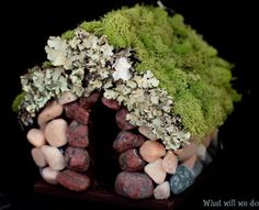 how to: fairy garden house and other fairy garden accesories