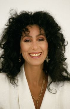 1985 - It seems like I don't see enough pictures of Cher smiling anymore