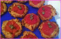 No gluten! Yes vegan!: Pizzette croccanti con farina di ceci e grano sara...